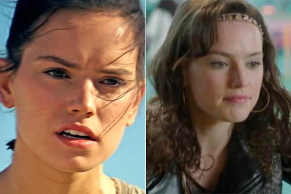 022407 Los protagonistas de Star Wars: El despertar de la fuerza y su paso por la TV