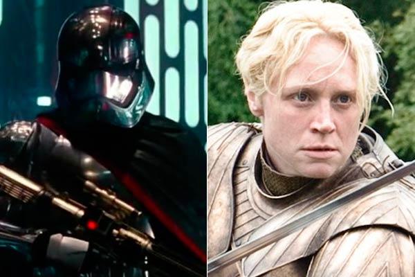 431598 Los protagonistas de Star Wars: El despertar de la fuerza y su paso por la TV