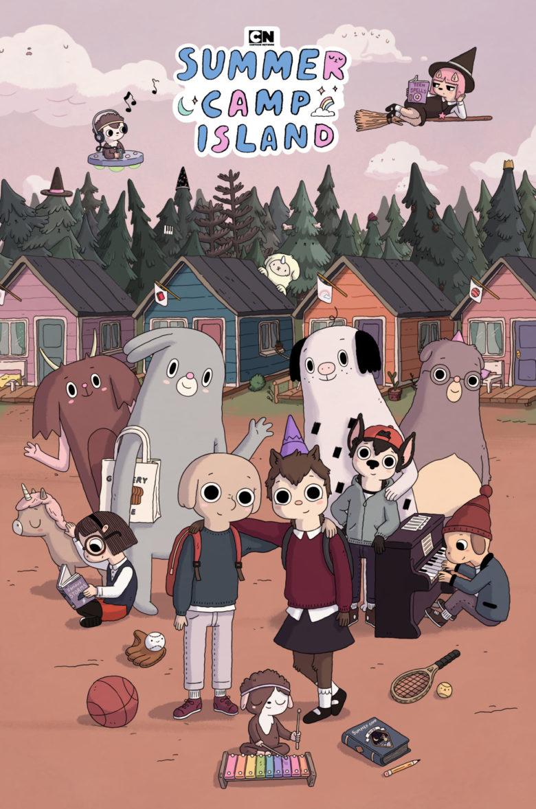 Cartoon Network Presenta El Estreno De Campamento De Verano  Spoiler Time-8198
