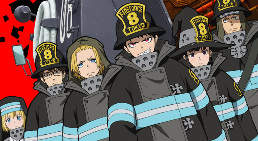 Suspenden estreno de episodio Fire Force, tras el ataque a Kyoto Animation