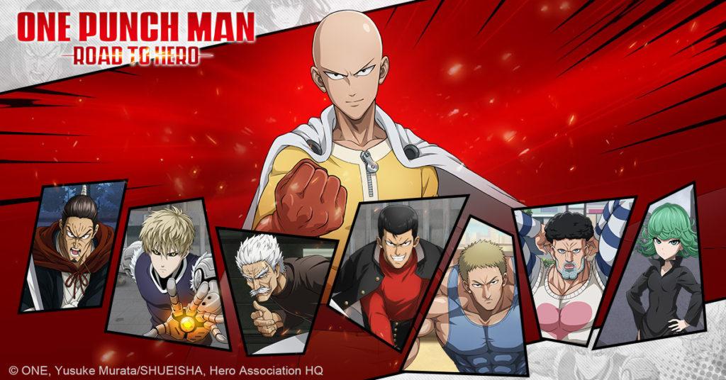 El videojuego Road to Hero llega a iOS y Android - One-Punch Man